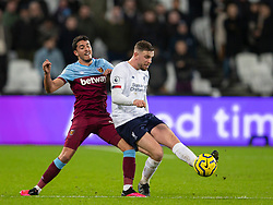 LONDON, ENGLAND - Wednesday, January 29, 2020: Liverpool's captain Jordan Henderson during the FA Premier League match between West Ham United FC and Liverpool FC at the London Stadium. (Pic by David Rawcliffe/Propaganda)