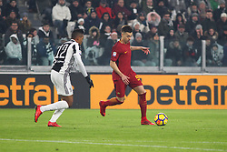 December 23, 2017 - Turin, Piedmont, Italy - Stephan El Shaarawy (A.S. Roma, right) in action during the Series A football match between Juventus FC and AS Roma at Allianz Stadium on 23 December, 2017 in Turin, Italy. .Juventus won 1-0 over Roma. (Credit Image: © Massimiliano Ferraro/NurPhoto via ZUMA Press)