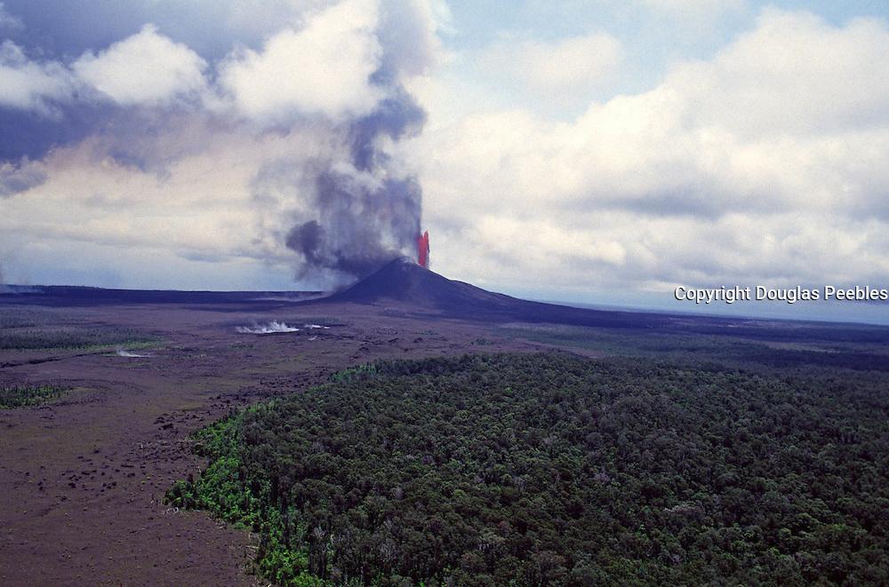 Kilauea Volcano, Island of Hawaii<br />