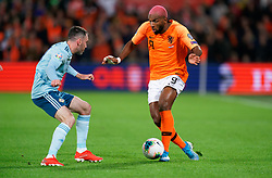 10-10-2019 NED: Netherlands - Northern Ireland, Rotterdam<br /> UEFA Qualifying round ­Group C match between Netherlands and Northern Ireland at De Kuip in Rotterdam / Ryan Babel #9 of the Netherlands