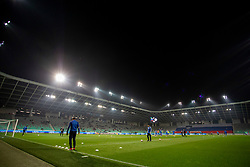 SRC Stozice before football match between National Teams of Slovenia and Cyprus in Final Tournament of UEFA Nations League 2019, on October 16, 2018 in SRC Stozice, Ljubljana, Slovenia. Photo by Urban Urbanc / Sportida