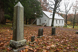 Cemetery at Joppa Missionary Baptist Church, Est. 1862, Mammoth Cave National Park, Kentucky, United States of America