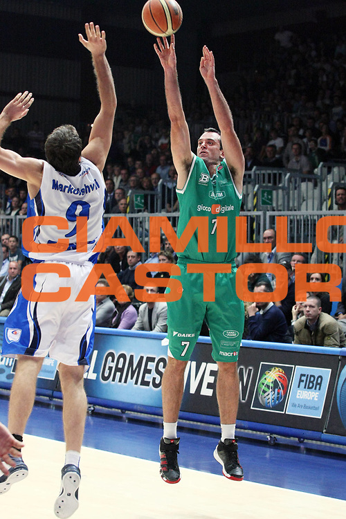 DESCRIZIONE : Cantu Lega A 2009-10 NGC Medical Cantu Benetton Treviso<br /> GIOCATORE : Jasmin Hukic<br /> SQUADRA : Benetton Treviso<br /> EVENTO : Campionato Lega A 2009-2010 <br /> GARA : NGC Medical Cantu Benetton Treviso<br /> DATA : 12/10/2009<br /> CATEGORIA : Tiro Three Points<br /> SPORT : Pallacanestro <br /> AUTORE : Agenzia Ciamillo-Castoria/G.Cottini<br /> Galleria : Lega Basket A 2009-2010 <br /> Fotonotizia : Cantu Campionato Italiano Lega A 2009-2010 NGC Medical Cantu Benetton Treviso<br /> Predefinita :