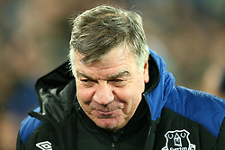 Everton manager Sam Allardyce - Mandatory by-line: Robbie Stephenson/JMP - 01/01/2018 - FOOTBALL - Goodison Park - Liverpool, England - Everton v Manchester United - Premier League