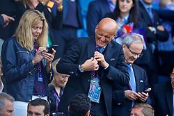CARDIFF, WALES - Thursday, June 1, 2017: Former UEFA referee Pierluigi Collina during the UEFA Women's Champions League Final between Olympique Lyonnais and Paris Saint-Germain FC at the Cardiff City Stadium. (Pic by David Rawcliffe/Propaganda)