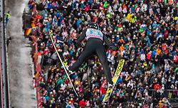 30.12.2018, Schattenbergschanze, Oberstdorf, GER, FIS Weltcup Skisprung, Vierschanzentournee, Oberstdorf, Probesprung, im Bild Robin Pedersen (NOR) // Robin Pedersen of Norway during his Trial Jump for the Four Hills Tournament of FIS Ski Jumping World Cup at the Schattenbergschanze in Oberstdorf, Germany on 2018/12/30. EXPA Pictures © 2018, PhotoCredit: EXPA/ Peter Rinderer