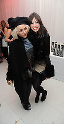 Left to right, JAIME WINSTONE and DAISY LOWE at the launch of the English National Ballet's Christmas season 2009 held at the St.Martin;s Lane Hotel, London on 15th December 2009.