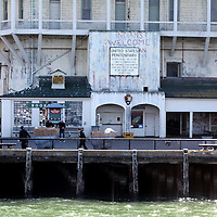 "The 50 year anniversary of the closing of Alcatraz Island ,""The Rock"" prison occurs on March 21, 2013. In 1963, the remaining 27 prisoners were loaded onto a ship and ferried off the island. Today, Alcatraz is a worldwide tourist destination and a National Park, as seen in these photos taken on Sunday, March 17, 2013. (AP Photo/Alex Menendez)"
