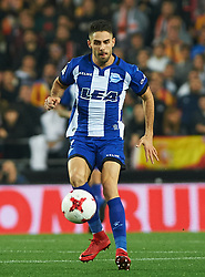 January 17, 2018 - Valencia, Valencia, Spain - Ruben Sobrino of Deportivo Alaves during the Spanish Copa del Rey, Round of 8, match between Valencia CF and Deportivo Alaves at Estadio de Mestalla on January 17, 2018 in Valencia, Spain. (Credit Image: © Maria Jose Segovia/NurPhoto via ZUMA Press)