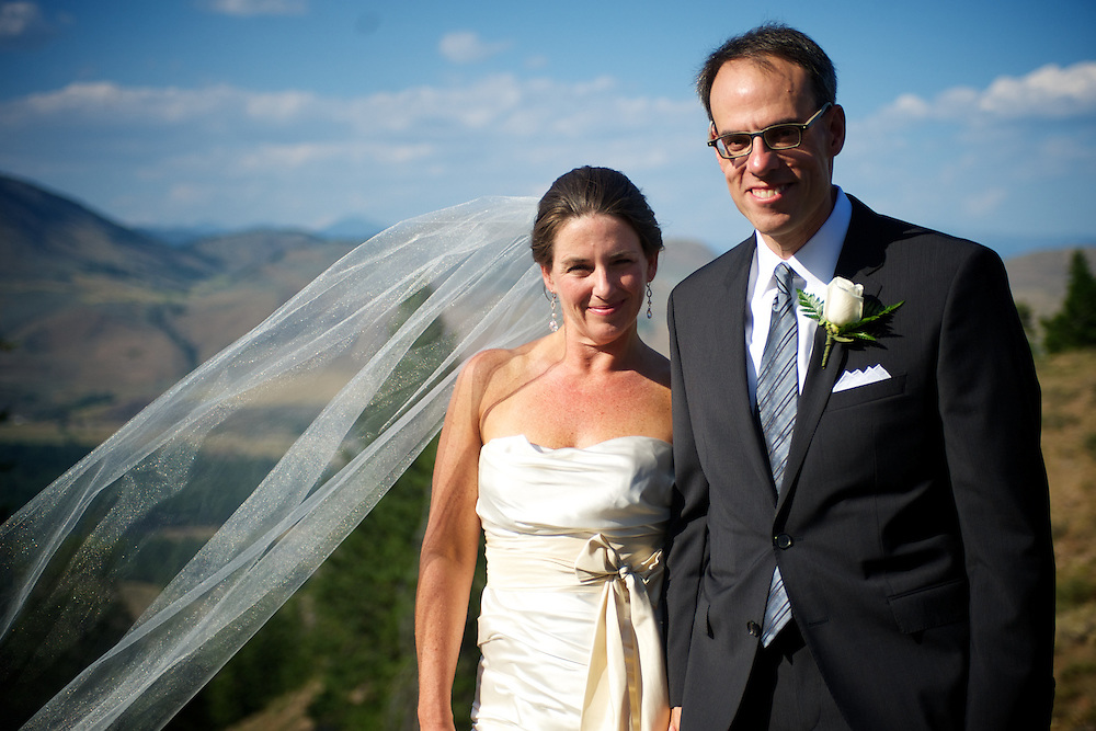 Lynn Hubbard and David Zapolsky Wedding