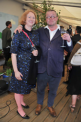 FERGUS & MARGOT HENDERSON at a party to celebrate the publication on 'Let's Eat: Recipes From My Kitchen Notebook' by Tom Parker Bowles held at Selfridge's Rooftop. Selfridge's, Oxford Street, London on 27th June 2012.
