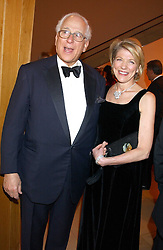 SIR EVELYN & LADY DE ROTHSCHILD at a fundraising gala to celebrate 150 years of The National Portrait Gallery, at the NPG, St.Martin's Place, London on 28th February 2006.<br />
