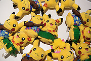 Pokemon Puppets in the Pokemon center in Ikebukuro. The Japanese version of the game app Pokemon Go was released on July 22, 2016. Japan McDonalds' 3,000 restaurants in Japan will be turned into Pokemon gyms in collaboration with the fast-food chain. 22/07/2016-Tokyo, JAPAN