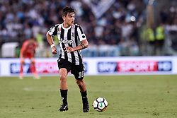 August 13, 2017 - Rome, Italy - Paulo Dybala of Juventus during the Italian Supercup Final match between Juventus and Lazio at Stadio Olimpico, Rome, Italy on 13 August 2017. (Credit Image: © Giuseppe Maffia/NurPhoto via ZUMA Press)