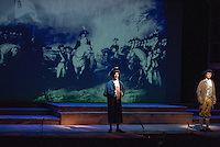 "Dress rehearsal for ""Marking the Moment"" presented by the Education Theatre Collaborative at Plymouth State University January 22, 2013.  (Karen Bobotas/for the Laconia Daily Sun)"