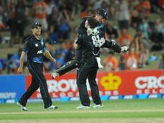 Napier-Cricket, New Zealand v India, 1st one day, January 19