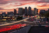 Bellevue Skyline, Autumn Sunset