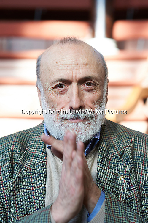 Carlo Petrini at The Oxford  Literary Festival<br /> 19th March 2013<br /> <br /> Photograph by Geraint Lewis/Writer Pictures<br /> <br /> <br /> WORLD RIGHTS