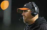 Springville head coach Joe Martin during their game at Allison Field in Springville on Friday October 19, 2012. Midland defeated Springville 30-29.