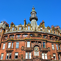 Charing Cross Mansions in Glasgow, Scotland<br />
