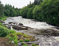 Connecticut River Rapids above Pittsburg Bridge
