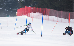 13.02.2013, Buerglalmbahn, Dienten, AUT, FIS Weltmeisterschaften Ski Alpin, Schladming 2013, Comeback Marlies Schild, im Bild Marlies Schild (AUT) // Marlies Schild of Austria in action during her Comeback for the FIS Ski World Championships 2013 SChladming at the Buerglalmbahn, Dienten, Austria 2013/02/13. EXPA Pictures © 2013, PhotoCredit: EXPA/ Juergen Feichter