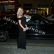 Michelle Palmer attends the Aspinal of London store on Regent's Street St. James's on December 5, 2017 in London, England.