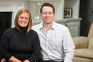 Eric and Monica Janitis pose for a photo at their home in London, Ontario, Tuesday,  December 3, 2013.<br />  Geoff Robins for Western University