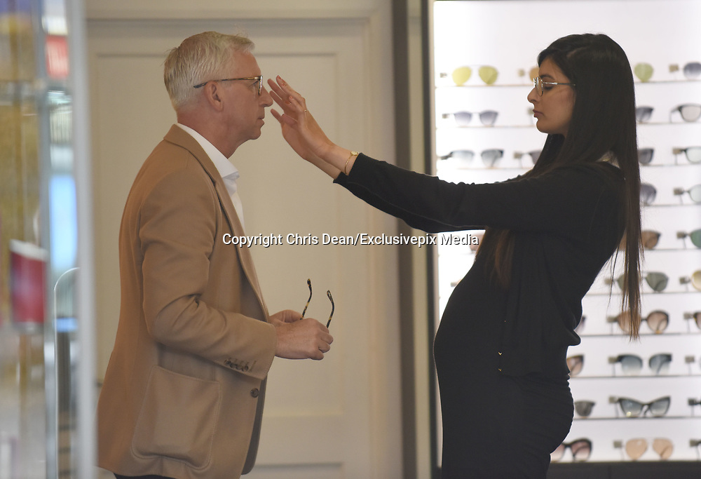 EXCLUSIVE<br /> Ex Crystal Palace manager Alan Pardew pictured looking for new glasses  at Maverick &amp; Wolf Opticians in London<br /> &copy;Chris Dean/Exclusivepix Media