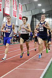 BU Terrier Indoor track meet<br /> Austin Trainor Central Conn, Michael O'Leary Providence, William Ullrich New Hampshire, Mile