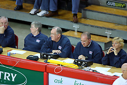26 October 2007: The Drake Bulldogs were defeated 3 - 0  by the Illinois State Redbirds at Redbird Arena on the campus of Illinois State University in Normal Illinois. .<br />