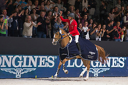Schwizer Pius (SUI) - Quidam du Vivier<br /> Longines FEI World Cup™ Jumping Final 2013/2014<br /> Lyon 2014<br /> © Dirk Caremans