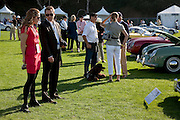 Image of guests at the Porsche Race Car Classic, Quail Lodge, Carmel, California, America west coast.