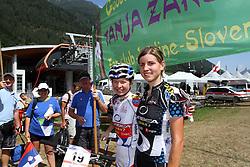 Tanja Zakelj in Nina Homovec na dirki svetovnega pokala v Val di Sole (Photo by Grega Stopar / Sportida.com)