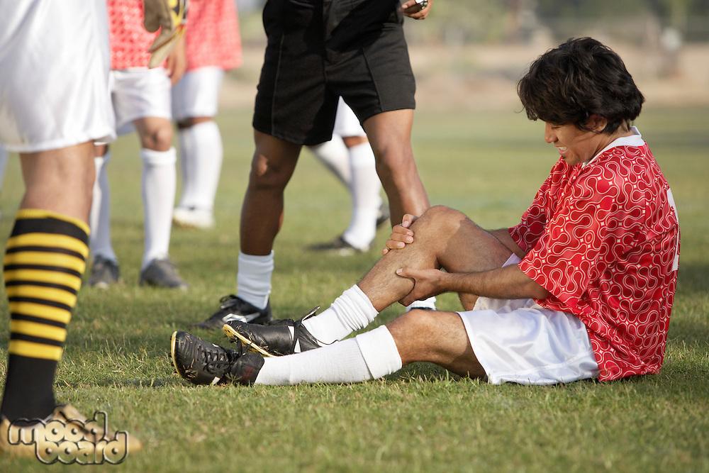 Injured Soccer Player