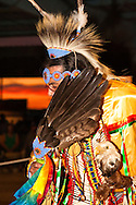 Traditional Dancer, Milk River Indian Days Pow Wow, Fort Belknap Indian Reservation, Montana.