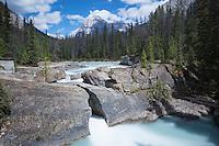 Natural Bridge at Yoho National Park, British Columbia, Canada