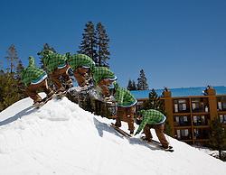 Minus 7 Melee Snowskate contest, 2009 at Donner Ski Ranch, California