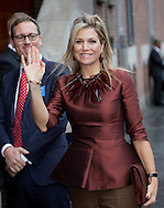 Amsterdam, 11-11-2015<br /> <br /> <br /> Queen Maxima attend the Conference Doing business in fragile states<br /> <br /> Royalportraits Europe-Bernard Ruebsamen