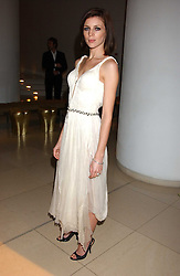 Model LIBERTY ROSS at a Burns Night supper in aid of Clic Sargent & Children's Hospital Association Scotland hosted by Ewan McGregor, Sharleen Spieri and Lady Helen Taylor at St.Martin's Lane Hotel, 45 St Martin's Lane, London on 25th January 2006.<br />