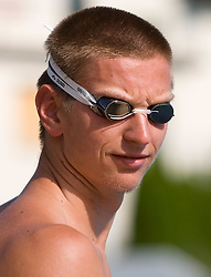 Robert Zbogar at practice of Slovenian swimmers before World Championships in Rome, on July 23 2009, in Kranj, Slovenia. (Photo by Vid Ponikvar / Sportida)