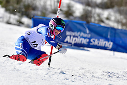 HONDO Ammi, LW6/8-2, JPN, Slalom at the WPAS_2019 Alpine Skiing World Cup Finals, Morzine, France