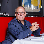 NLD/Amsterdam\/20131024 - Eigenaar Le Garage, 1e tvkok en chefkok Joop Braakhekke