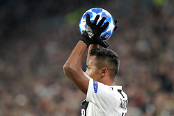 November 27, 2018 - Turin, Piedmont, Italy - Alex Sandro (Juventus FC) during the UEFA Champions League match between Juventus FC and Valencia CF, at Allianz Stadium on November 27, 2018 in Turin, Italy. .Juventus won 1-0 over Valencia. (Credit Image: © Massimiliano Ferraro/NurPhoto via ZUMA Press)