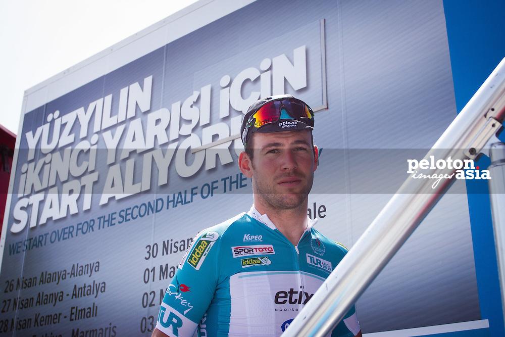 Tour of Turkey 2015/ Stage 3/ Kemer to Elmali/ 165 km/ Mark Cavendish