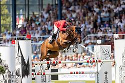 WARD McLain (USA), HH Azur<br /> Aachen - CHIO 2018<br /> Rolex Grand Prix 1. Umlauf<br /> Der Grosse Preis von Aachen<br /> 22. Juli 2018<br /> © www.sportfotos-lafrentz.de/Stefan Lafrentz