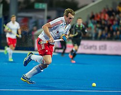 England's Chris Griffiths. England v Germany - Semi-Final Unibet EuroHockey Championships, Lee Valley Hockey & Tennis Centre, London, UK on 27 August 2015. Photo: Simon Parker