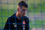 MELBOURNE, VIC - JANUARY 22: Western Sydney Wanderers goalkeeper Nick Suman (40) looks on during warm up at the Hyundai A-League Round 15 soccer match between Melbourne City FC and Western Sydney Wanderers at AAMI Park in VIC, Australia 22 January 2019. Image by (Speed Media/Icon Sportswire)