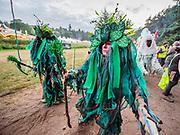 Henham Park, Suffolk, 18 July 2019. A Pagan based opening ceremony - The 2019 Latitude Festival.