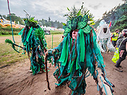 Henham Park, Suffolk, 18 July 2019. A Pagan based opening ceremony - The 2019 Latitude Festival.